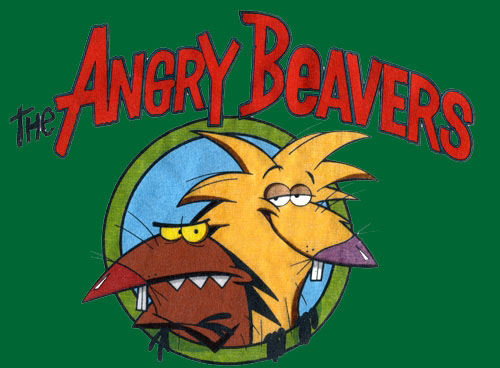 Крутые бобры angry beavers